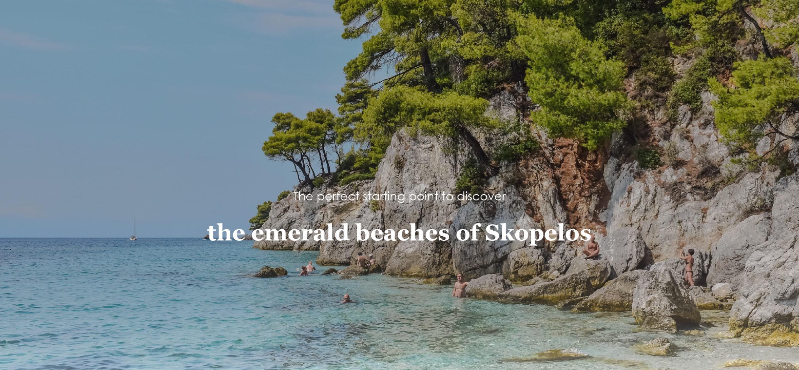 Hotel on the island of Skopelos